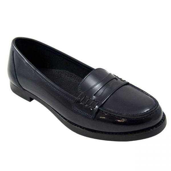 Alejandra Florentín – zapato colegial de piel