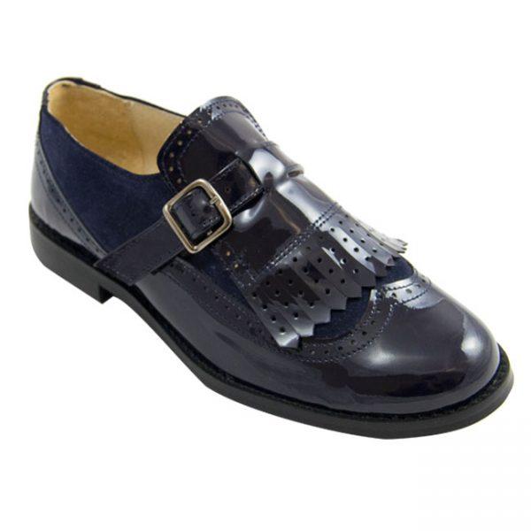 Gloria – zapato inglés colegial de piel