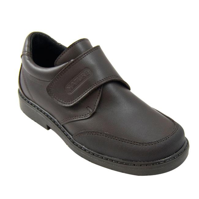 Marcos zapato colegial niño de piel